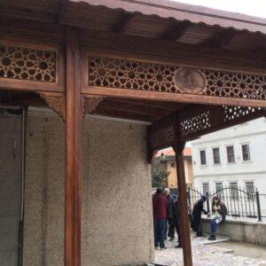istanbul sultançiftliği hacı şükrü cami ahşap uygulama