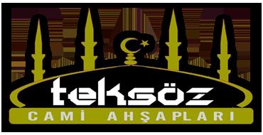 teksöz cami ahşapları logo
